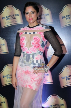 Sameera Reddy during Preview of The House of Style Blenders Pride Fashion Tour 2013