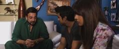 Sanjay Dutt, Ram Charan Teja and Priyanka Chopra still from Zanjeer 2013