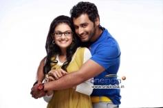 Saranya Mohan and Krish J. Sathaar in Malayalam Movie Thakkali