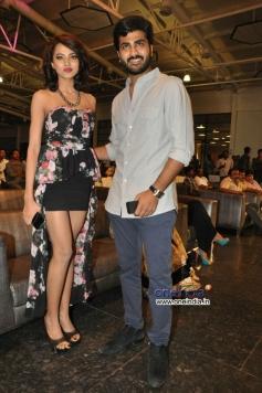 Sharwanand and Anaika Soti at Satya 2 Audio Launch