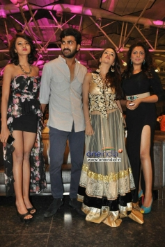 Aaradhana, Sharwanand, Anaika Soti and Madhu Shalini at Satya 2 Audio Launch