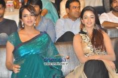 Lakshmi Manchu and Anaika Soti at Satya 2 Audio Launch