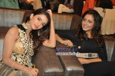 Madhu Shalini & Anaika Soti at Satya 2 Audio Launch