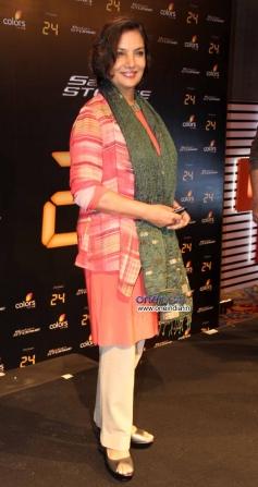 Shabana Azmi at launch of Anil Kapoor's 24 series