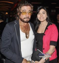 Shakti Kapoor and Haya Sehgal at Premiere of film Raqt - Ek Rishta