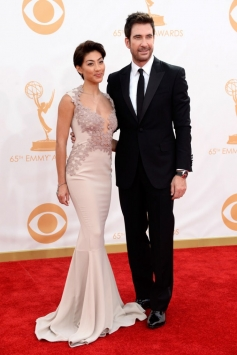 Shasi Wells and Dylan McDermott at 65th Emmy Awards 2013