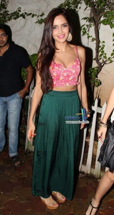 Shazahn Padamsee poses during the party event at Olive Bar