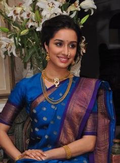 Shraddha Kapoor in Maharashtrian style
