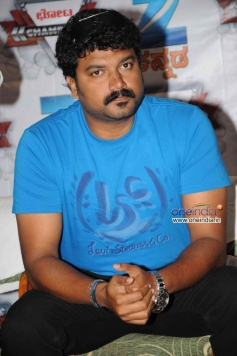 Shrujan Lokesh at Chota Champion Press Meet