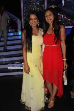 Shweta Tiwari on the sets of Jhalak Dikhhla Jaa 6 Super Finale