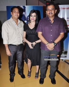 Shyam Purohit, Aparajita and Jayant Gilatar at Premiere of film Raqt - Ek Rishta