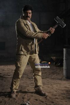 Srihari still from Telugu Movie Police Game