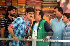 Srikanth, Brahmanandam  in Telugu Movie Malligadu Marriage Bureau