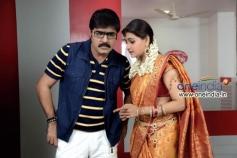 Srikanth and Manochitra in Telugu Movie Malligadu Marriage Bureau