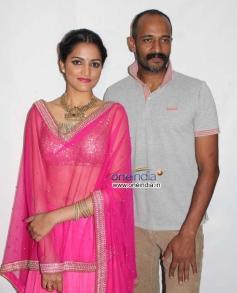 Sukrutha and Kishore at Kannada Film Jatta Audio Release