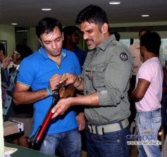 Sunil Shetty along with his trainer Pritipal singh bedi