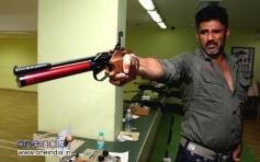 Sunil Shetty training for his Anand Kumar's film Desi Kattey