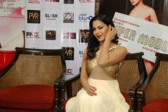 Supermodel film press conference