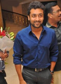 Surya at Actor Bharath and Jesslie wedding reception