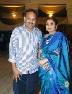 Venkat Prabhu at TG Thyagarajan son Senthil Dhasha Wedding Reception