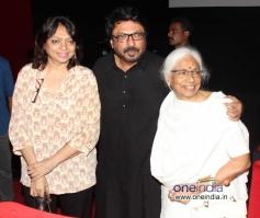 Sanjay Leela Basali with his mother Leela Bansali & his sister Bela Sehgal