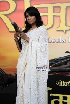 Barkha Bisht Sengupta at Trailer launch of Ram Leela