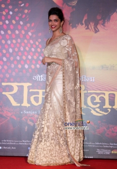 Deepika Padukone at Ram Leela film trailer launch