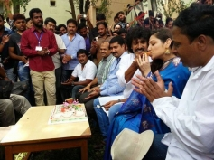 Actor Upendra's 45th Birthday Celebration at Kanteerava Studios, Bangalore
