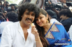 Upendra along with his wife Priyanka during his 45th Birthday Bash