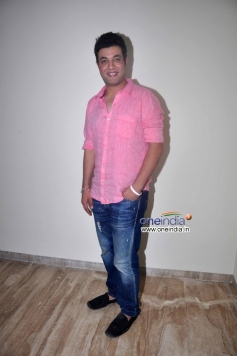 Varun Sharma poses during Warning film promotion