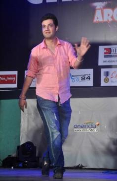 Varun Sharma at Warning film promotion