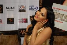 Veena Malik during the film Supermodel Promotions at PVR Delhi
