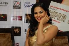 Veena Malik's film Real life of Super Model promotions