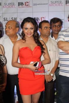 Vishakha Gupta  at Veena Malik's Super Model film premiere