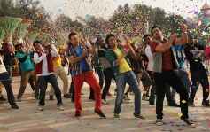 Vivek Oberoi, Ritesh Deshmukh and Aftab Shivdasani still from Grand Masti
