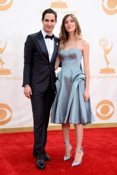 Zac Posen and Gia Coppola at 65th Emmy Awards 2013