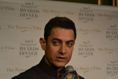 Aamir Khan at 2013 Inaugral Awards Dinner