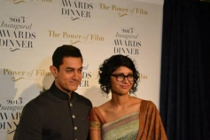 Aamir Khan along with his wife & filmmaker Kiran Rao
