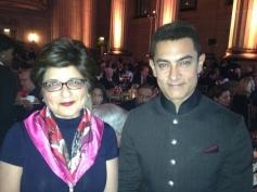 Aamir Khan poses at 2013 Inaugral Awards Dinner