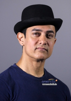Aamir Khan at the Dhoom 3 film trailer launch