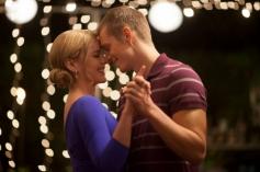 Abbie Cornish and Joel Kinnaman still from film Robocop 2014