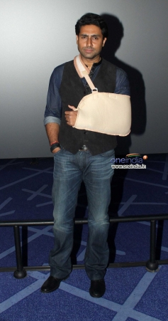Abhishek Bachchan at trailer launch of film Dhoom 3