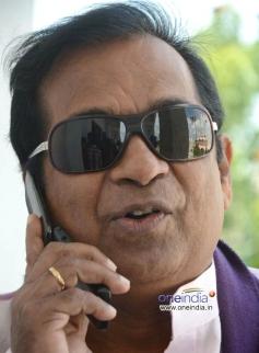 Actor Brahmanandam at Telugu Film Malligadu Marriage Bureau Press Meet