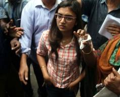 Actress Nazriya Nazim at Commissioner Office
