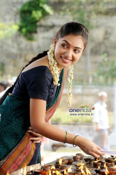 Actress Nazriya Nazim still from Naiyandi Movie