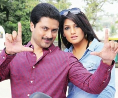 Adithya and Radhika in Movie Sweety