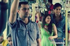 Aditi Rao Hydari and Shiv Pandit romantic still from Boss