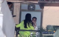 Aishwarya Rai Bachchan celebrates Karwa Chauth at her home in Mumbai