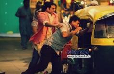 Akshay Kumar action still from film Boss