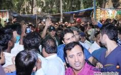Akshay Kumar arrive at Gaiety Galaxy for film Boss